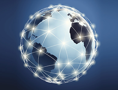Global network mapping image